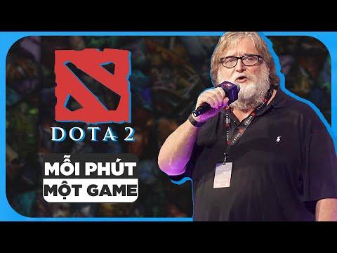 TÓM TẮT DOTA2 CHỈ TRONG 1 PHÚT   MỖI PHÚT MỘT GAME