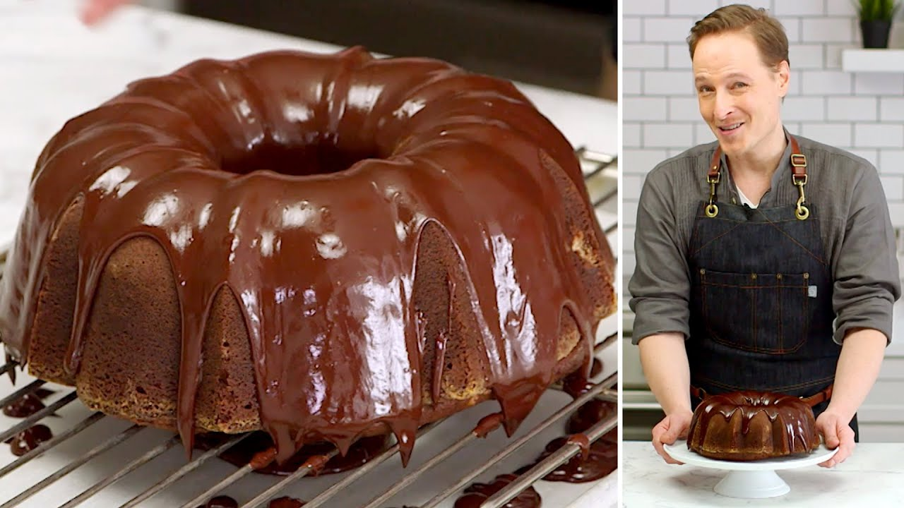 Decadent German Double Chocolate Bundt Cake Recipe | THE SLICE | Everyday Food