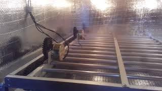 PENAMPAKAN mesin penetas telur otomatis kapasitas 200 butir