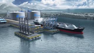 Видеоролик: Балтийский СПГ - завод по сжижению природного газа   Ascreen