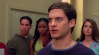 Peter Parker vs Flash   School Fight Scene   Spider Man 2002 Movie CLIP HD   YouTube