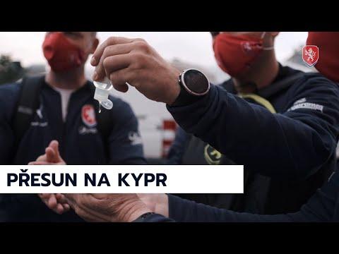 ČR A   Přesun na Kypr i předzápasový trénink