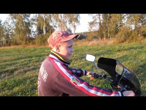 Покатушки на мотоцикле иж планета 4