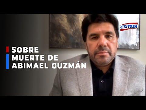 🔴🔵Paredes: Espero que la muerte de Abimael Guzmán inicie proceso para la derrota de Sendero Luminoso