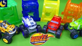 NEW Blaze and The Monster Machines Toys Nickelodeon Cartoon Show Monster Trucks Zeg & Darington