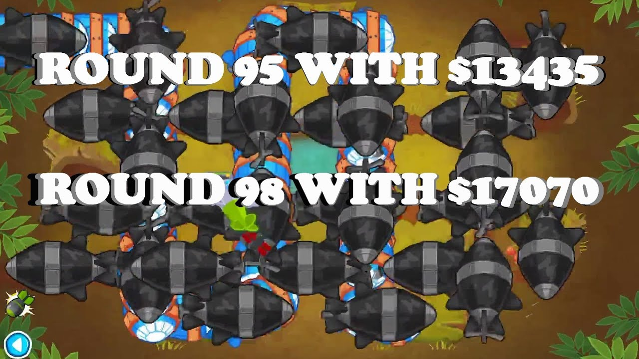 Bloons TD 6 - The cheapest single round solutions part 2 (BTD6 v11)