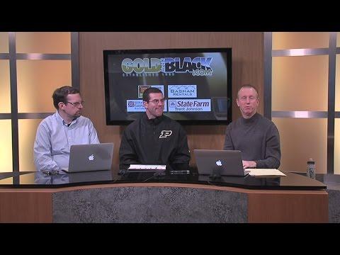 Gold and Black LIVE Feb 5 Segment 2 w/ Gerad Parker, Purdue Football Recruiting Coordinator