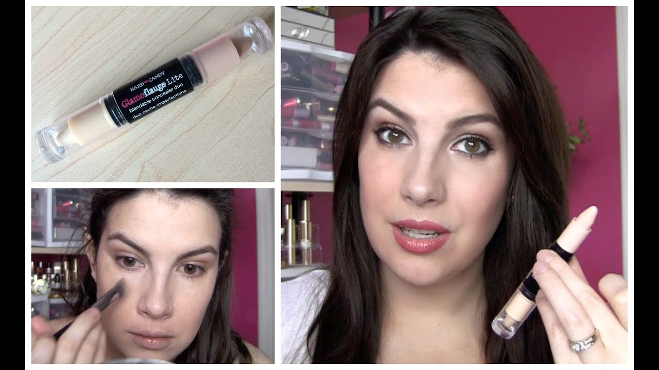 Hard Candy Glamoflauge Lite Review - YouTube