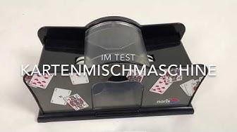 Kartenmischmaschine für 15Euro im Test (Firma Noris)