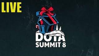 Dota Summit 8 - Day Two Part 2 || DOTA 2 ! LIVE