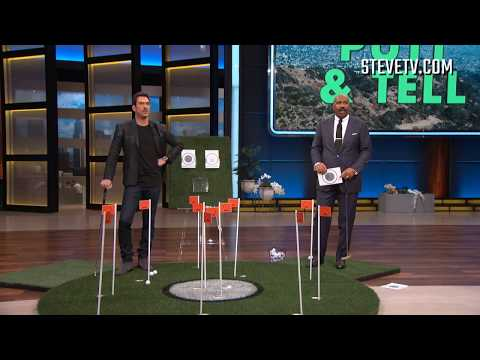 Our biggest secrets are coming out! Dylan McDermott and Steve play 'Putt & Tell'.