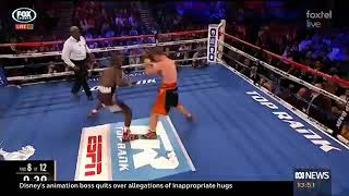 Terence Crawford defeats Jeff Horn by TKO