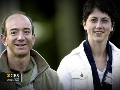 Jeff Bezos' wife blasts book on Amazon founder