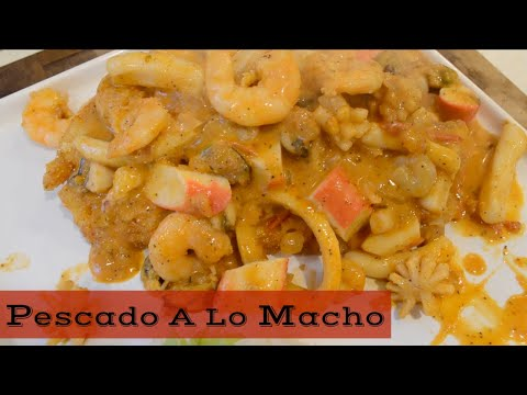 Pescado A Lo Macho Cocina Peruana Youtube