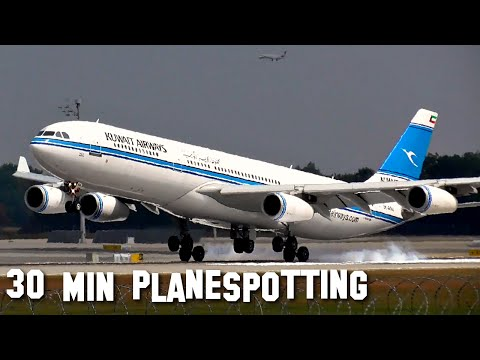 30 Minutes of STUNNING Planespotting at Munich Airport | 2015 | ✈