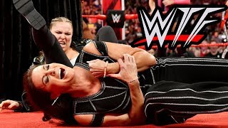 WWE RAW WTF Moments (20 August) | The Shield Reunite & Ronda Rousey Breaks Stephanie McMahon