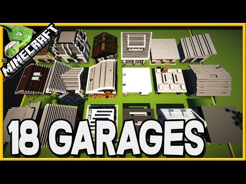 Minecraft 18 GARAGES in Default