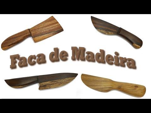 Faca de Madeira - Quase sem Ferramentas