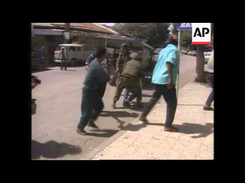 Occupied Territories -Palestinians Shot In Jericho