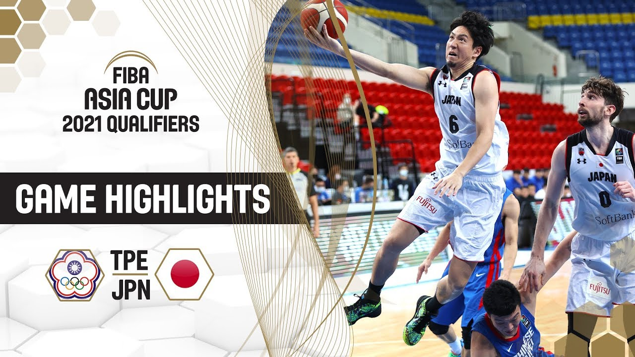 Chinese Taipei v Japan - Highlights - FIBA Asia Cup 2021