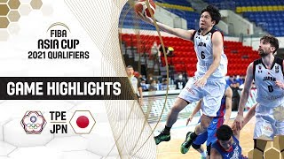 Chinese Taipei v Japan - Highlights - FIBA Asia Cup 2021 - Qualifiers