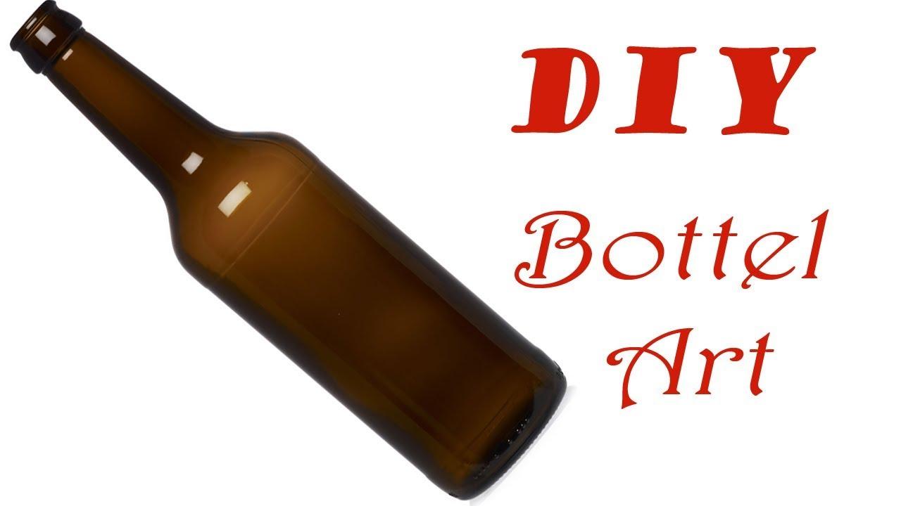 DIY Homemade Diy Glass Bottle Art Pics For Home Decor Ideas |Easy ...