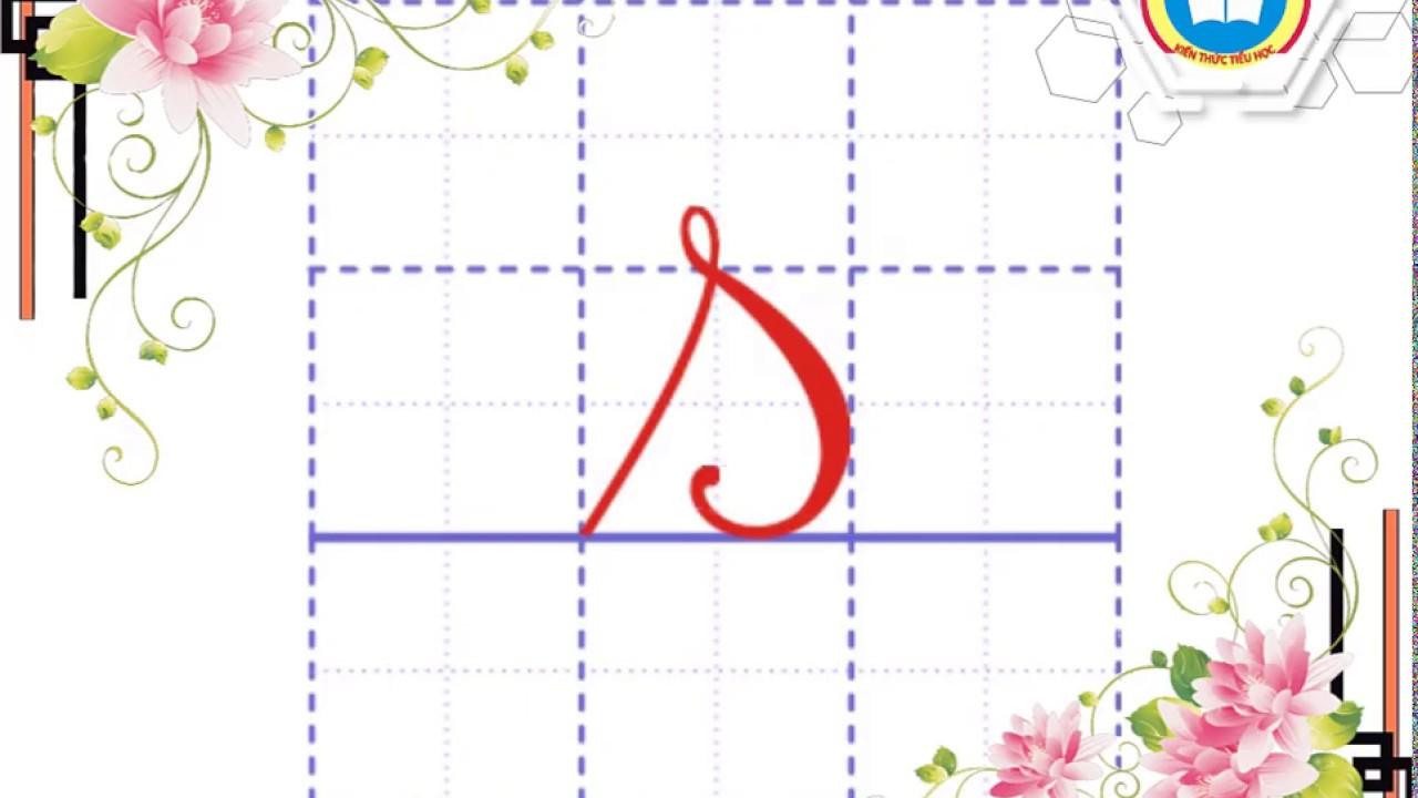 Hướng dẫn viết chữ s (cỡ nhỏ) - |Kiến thức Tiểu học