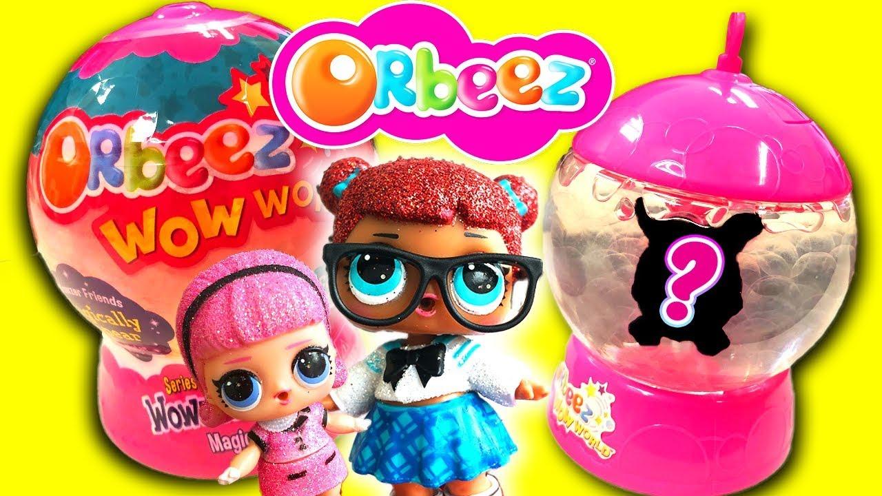 LOL Surprise Dolls Unbox NEW Orbeez Wowzer Surprise Magical Pets! w Madam  Queen & Teacher's Pet!
