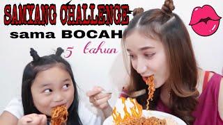 Gambar cover SAMYANG CHALLENGE sama BOCAH 5 tahun!! || Marisha Chacha