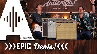 Fender Vibro-King 20th Anniversary Amp - Epic in Every Way