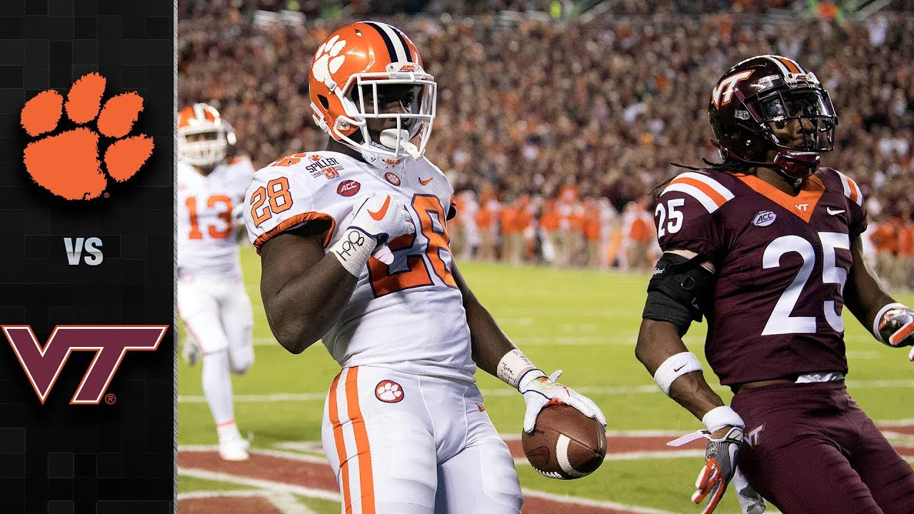 Clemson Vs Virginia Tech Football Highlights 2017