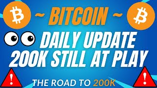 200K IS STILL M¥ TARGET!! - BTC PRICE PREDICTION - SHOULD I BUY BTC - BITCOIN FORECAST 200K BTC