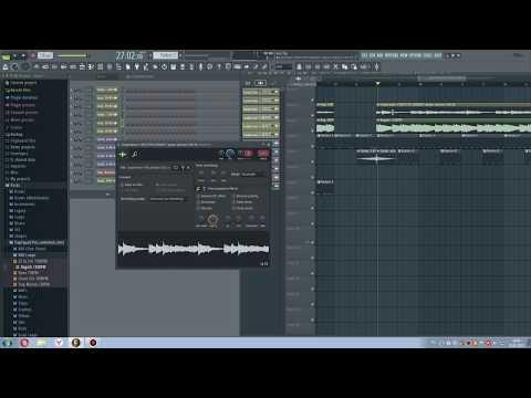 Бит в FL Studio 20 Басс Пианино Ссылка на SoundCloud в описании.