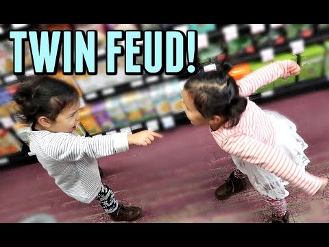 TWIN FEUD! - October 17, 2017 -  ItsJudysLife Vlogs thumbnail