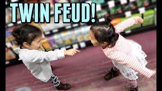 TWIN FEUD! - October 17, 2017 -  ItsJudysLife Vlogs