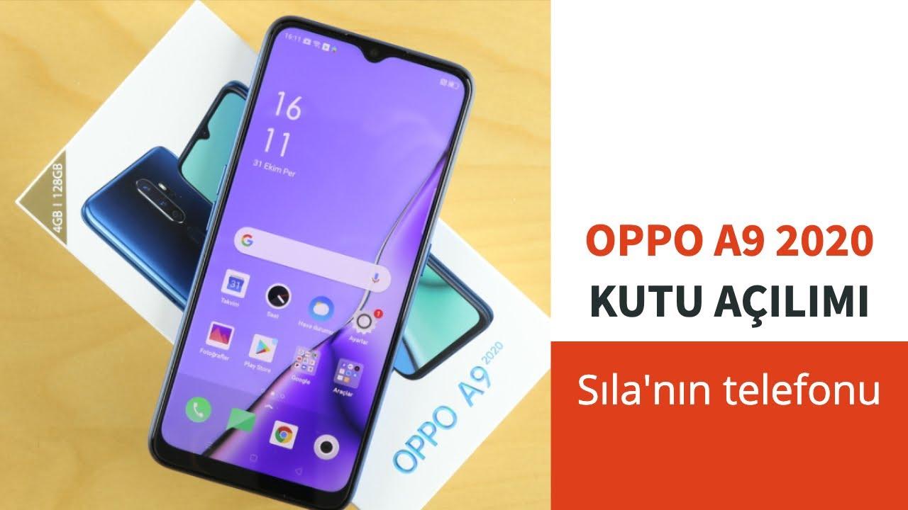 Oppo A9 2020, Sıla'nın reklamını yaptığı telefon, kutu açılım ve kutu içeriği