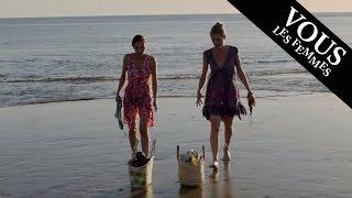 cabine de plage & le sable