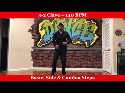 Salsa Dance for Absolute Beginners - Rhythm 3-2 Clave - 140 BPM
