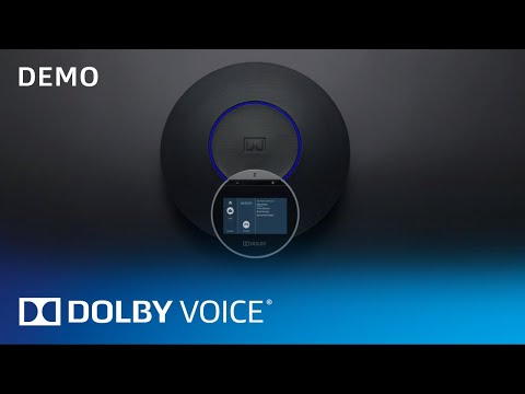 Dolby Conference Phone: Stunning Room Audio For Video Meetings And Conference Calls | Demo | Dolby