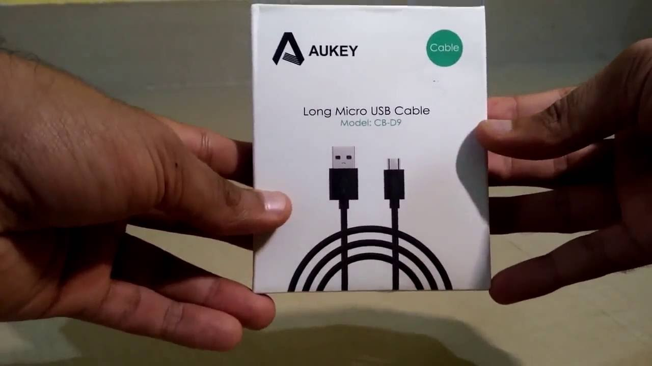 Aukey Hi Speed Micro Usb Data Cable 2m Long Premium Cb D9 Unboxing Kabel Charge Remax Full 2 Meter Support Quick Demo