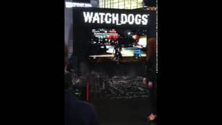 WATCH DOGS - PAX East 2014 (Footage)