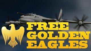 Free War Thunder Golden Eagles (No Hack, Not Fake)!!!