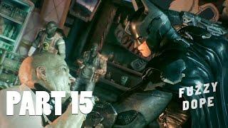 Batman Arkham Knight Walkthrough Gameplay Part 15 - Penguin - Mission 15 (PS4)