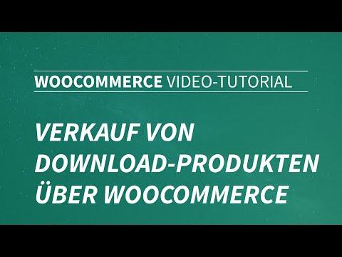 Verkauf Von Download-Produkten über WooCommerce