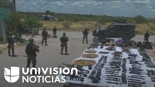 El ejército de México decomisó un arsenal con decenas de armas, que incluían un cohete antitanque thumbnail