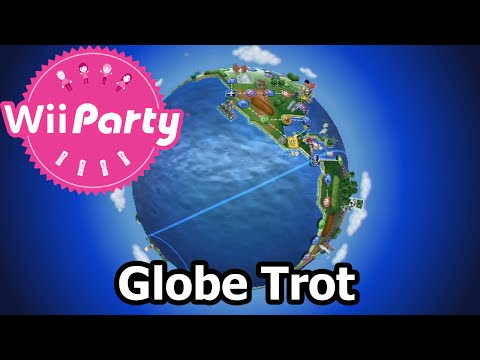 Wii Party - Party Mode - Globe Trot