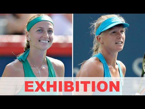 Petra Kvitova Vs Kiki Bertens EXHIBITION 2020