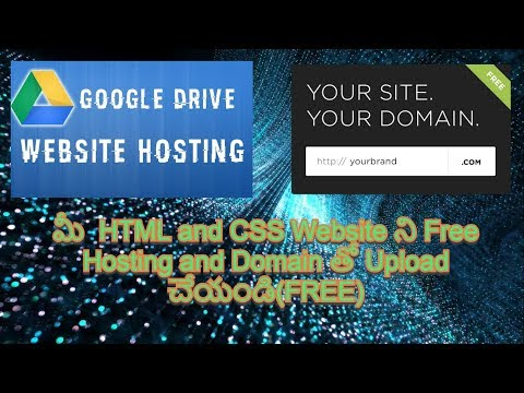 How To Create Your Website Using HTML And CSS With Free Hosting And Domain