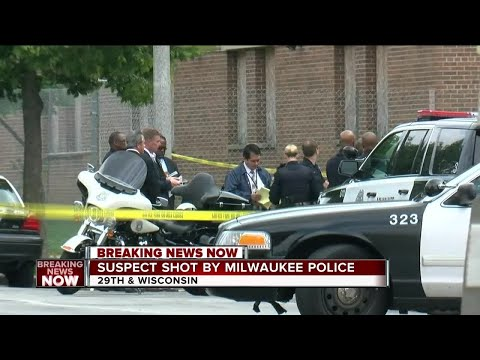 Suspect shot by Milwaukee police officer