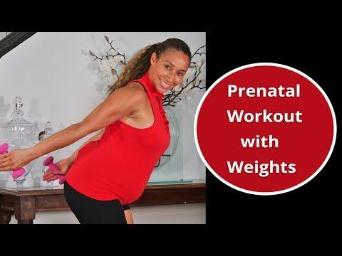 prenatal-workout-with-weights:-first-&-second-trimester